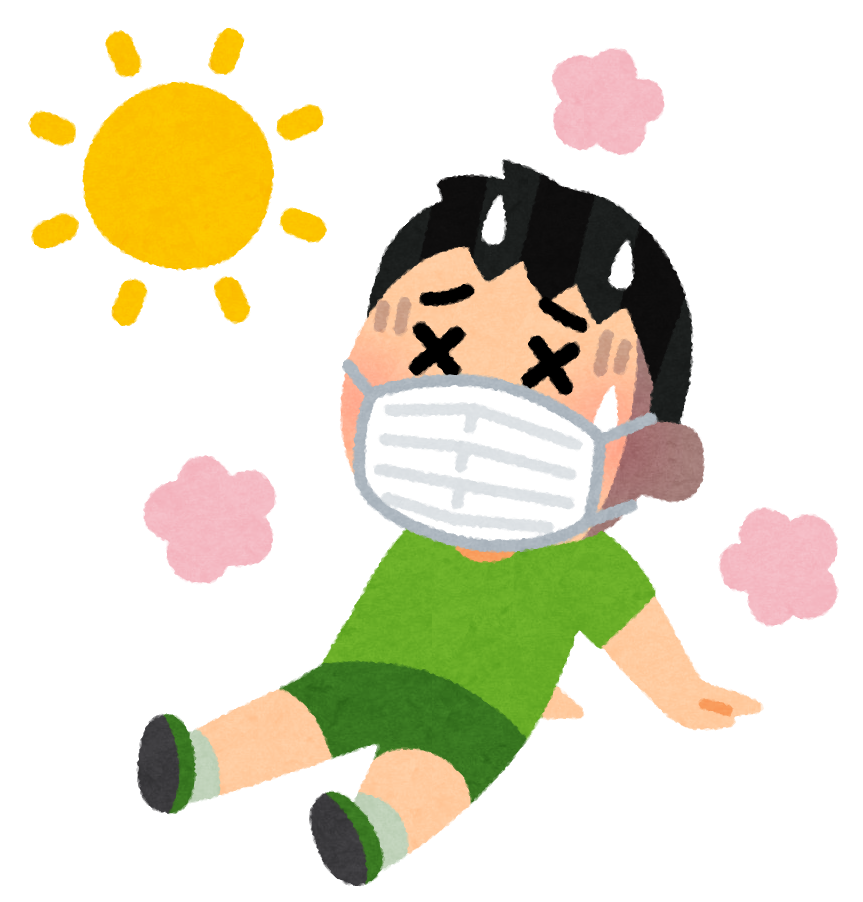 注意不要中暑