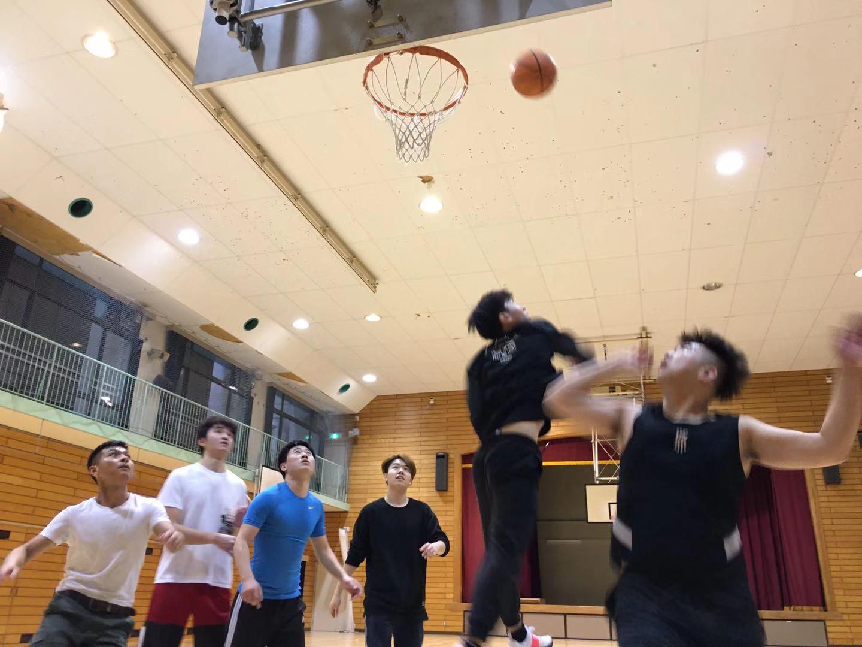 クラブ活動~バスケットボール~