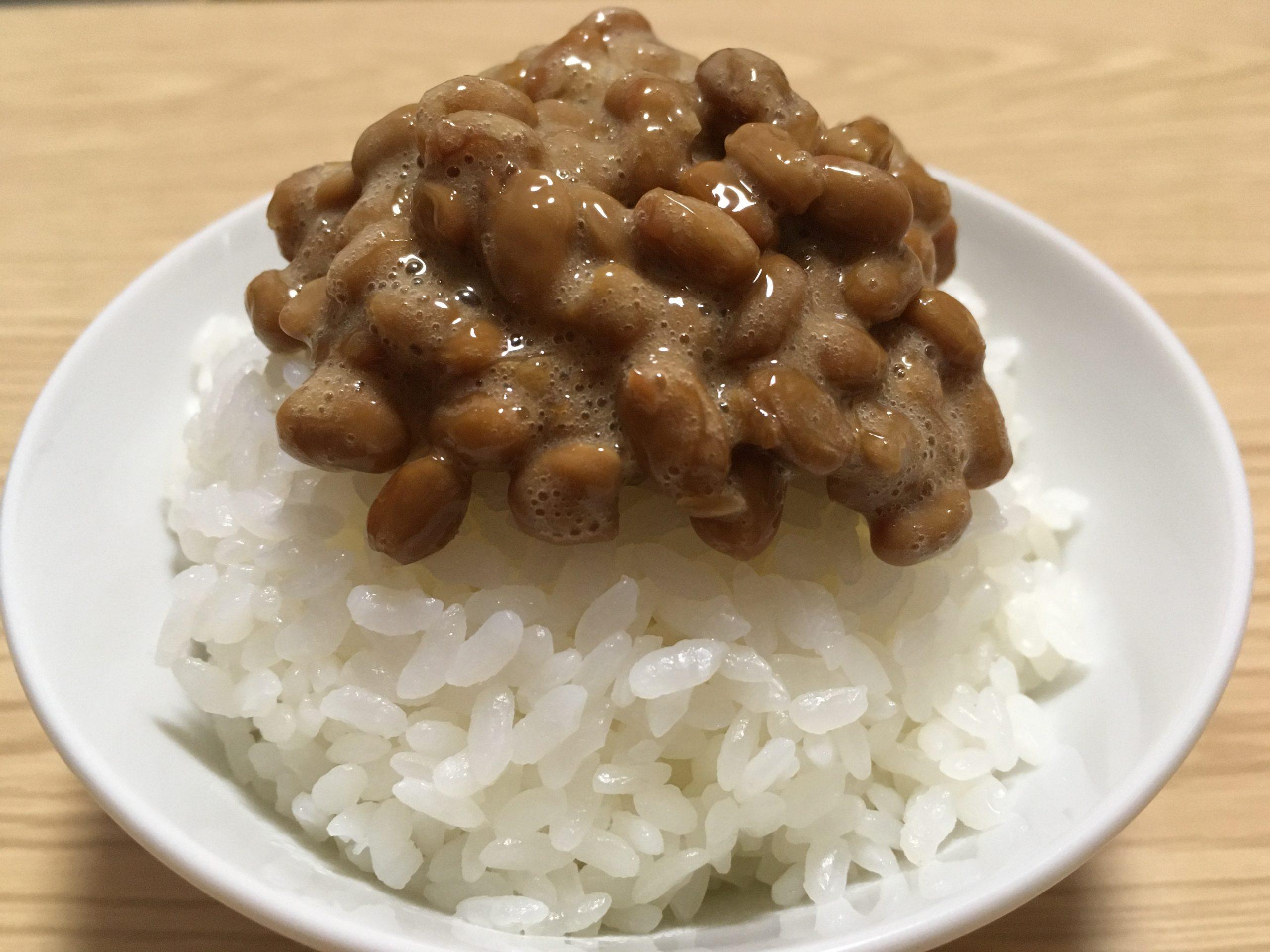 日本の国民食 -納豆-
